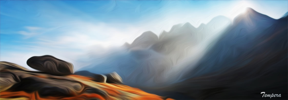 Tempera brings the mountain to you
